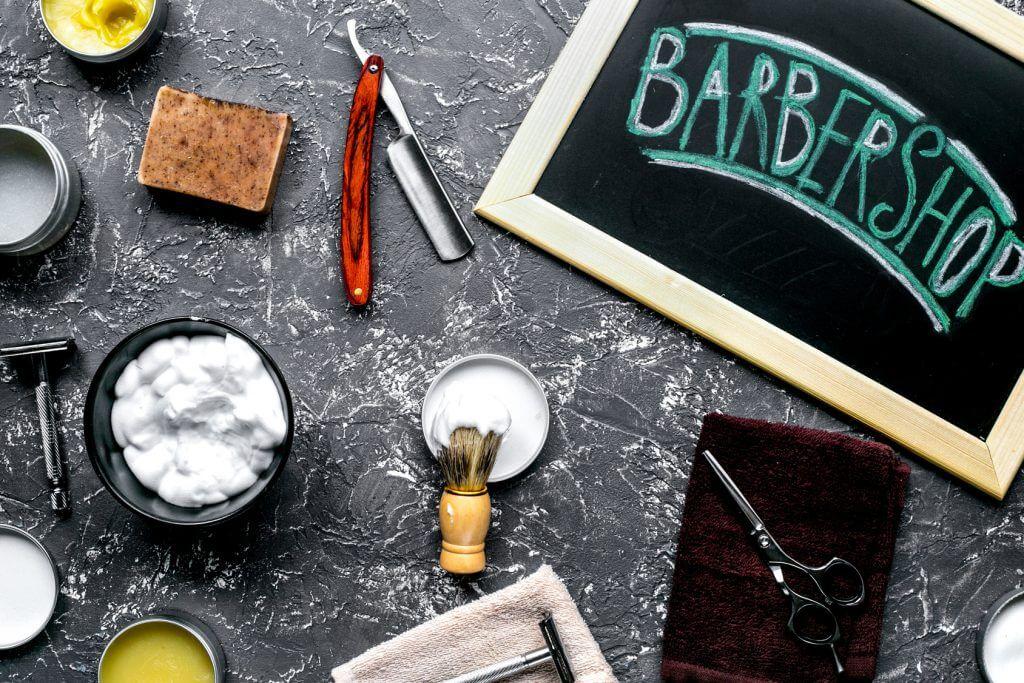 バーバーと理容室のイメージ