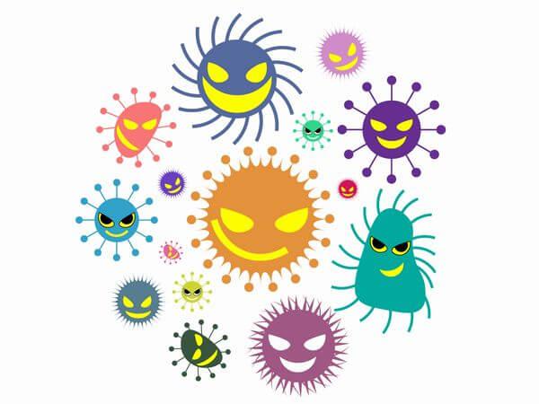 雑菌イメージ