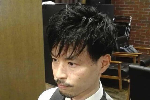 大人のカジュアルリラックスヘアセット