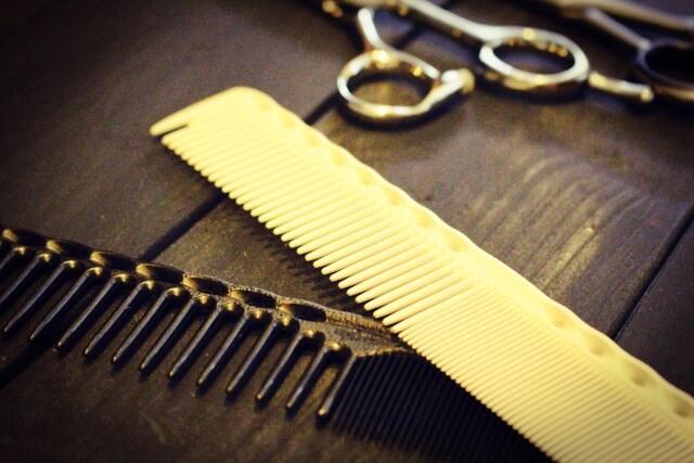 理容師のスタイリング道具